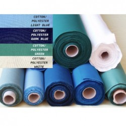 130.LS - Cotton/Polyester LUX S. fabric
